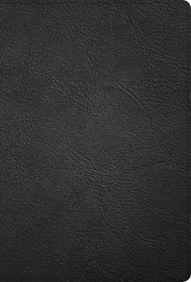Picture of KJV Large Print Ultrathin Reference Bible, Black Premium Leather, Black-Letter Edition, Indexed