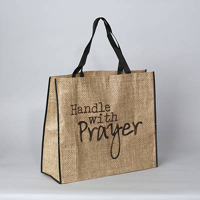 Picture of Handle With Prayer Tote Bag