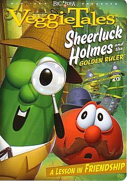 VeggieTales Sheerluck Holmes and the Golden Ruler DVD