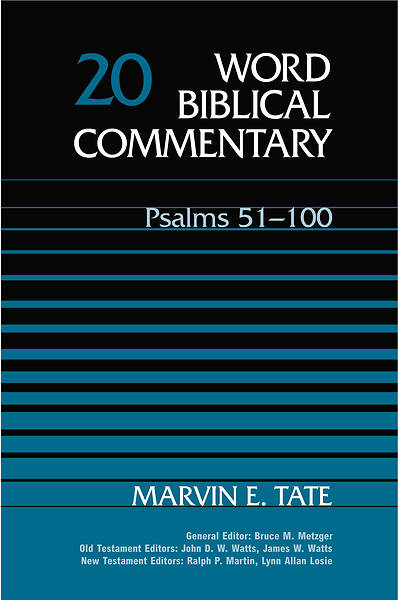 Word Biblical Commentary - Psalms 51-100