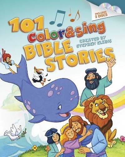 Picture of 101 Color & Sing Bible Stories