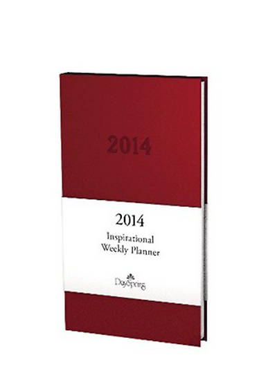 Picture of 2014 Premium Weekly Planner Berry
