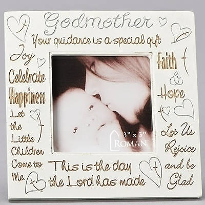 Picture of Baptism Godmother Photo Frame
