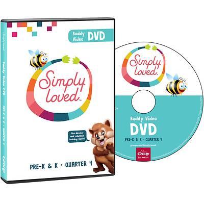 Picture of Simply Loved Q4 PreK-K Teaching DVD