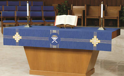 Picture of Abbott Hall Kingdom Cross NAF2158 Altar Frontal