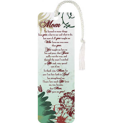 Mom Tassel Bookmark, Pack of 12