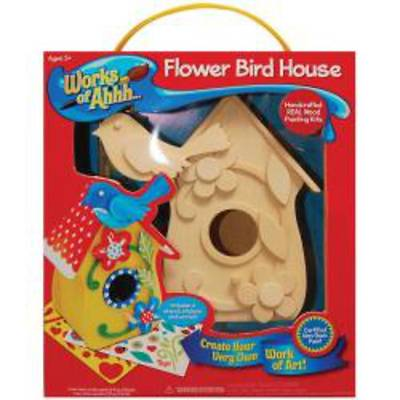 Flower Bird House