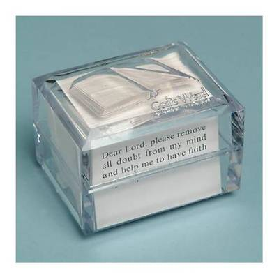 Picture of Promise Box God's Word KJV Acrylic