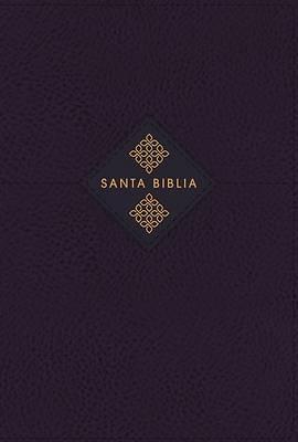 Picture of Nbla Biblia de Estudio Gracia Y Verdad, Leathesoft, Azul Marino, Inteiror a DOS Colores, Con Índice