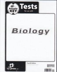 Biology Testpack Answer Key Grade 10 4th Edition