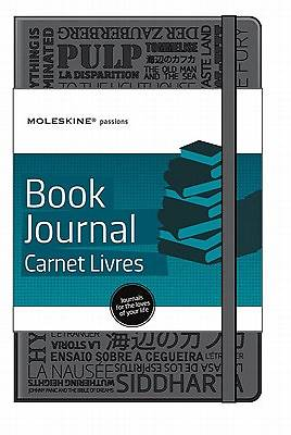 Moleskine Passions Book Journal/Carnet Livres [With 202 Adhesive Labels]