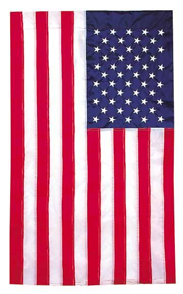 "Picture of Flag American 29"" x 49"" Appliqued"