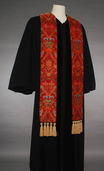 Coronation Tapestry 70 Series Red Stole