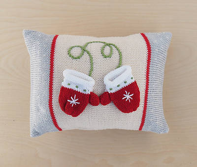 Picture of Pillow With Mini Mittens