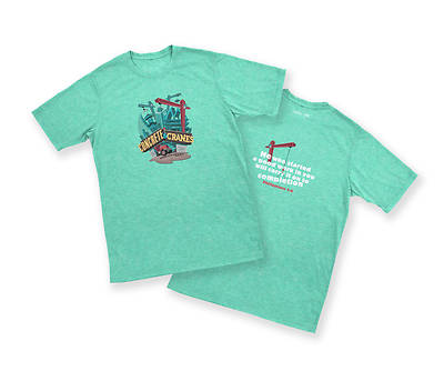 Picture of Vacation Bible School (VBS) 2020 Concrete and Cranes Theme T-shirt - Youth Small