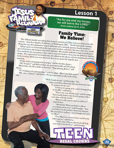 UMI VBS 2013 Jesus Family Reunion: The Remix Teen Student Magazine