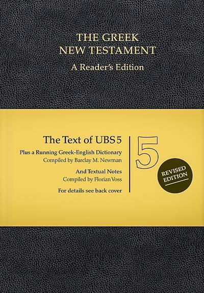 Picture of Ubs5 Greek New Testament-FL-Reader
