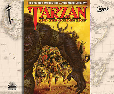 Picture of Tarzan and the Golden Lion, Volume 9