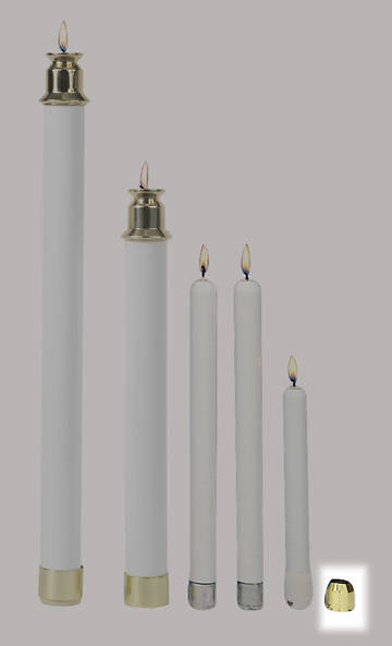 Trim Tops for Tube Candles Pair