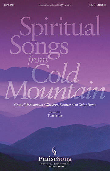 Spiritual Songs From Cold Mountain SAB Choral Book