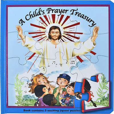Picture of A Child's Prayer Treasury (Puzzle Book)