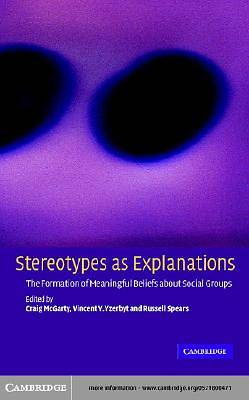 Stereotypes as Explanations [Adobe Ebook]