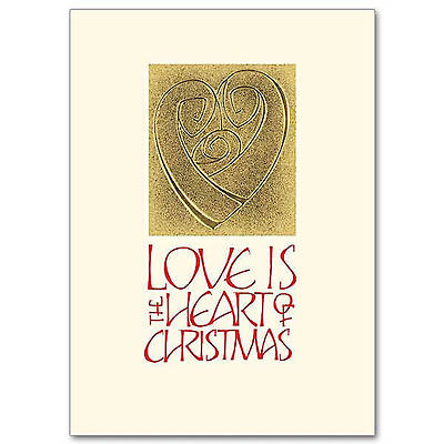 Picture of Love is the Heart of Christmas Boxed Cards