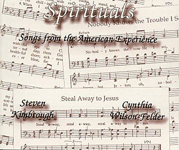 Spirituals Songs from the American Experience CD