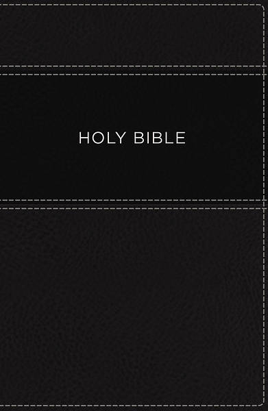 KJV, Apply the Word Study Bible, Large Print, Imitation Leather, Black, Indexed