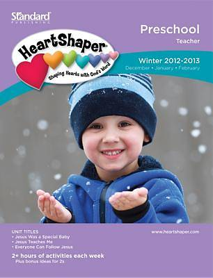 Standards HeartShaper Preschool Teacher Book: Winter 2012