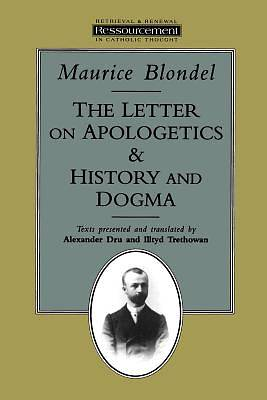 Picture of The Letter on Apologetics, And, History and Dogma