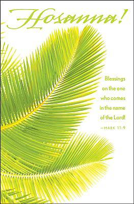 Hosanna Palm Sunday Bulletin (Pkg of 50)
