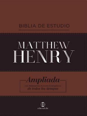 Picture of Rvr Biblia de Estudio Matthew Henry, Leathersoft, Clásica, Con Índice