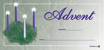 Advent Offering Envelope (Package of 100)