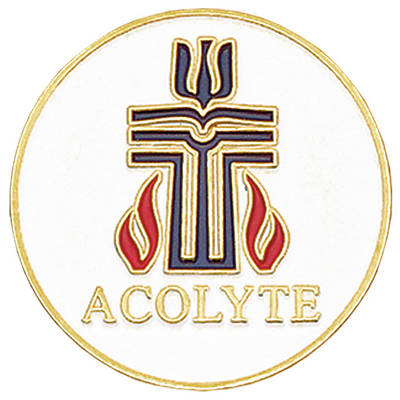 Presbyterian Gold-Plated Bronze Acolyte Pin
