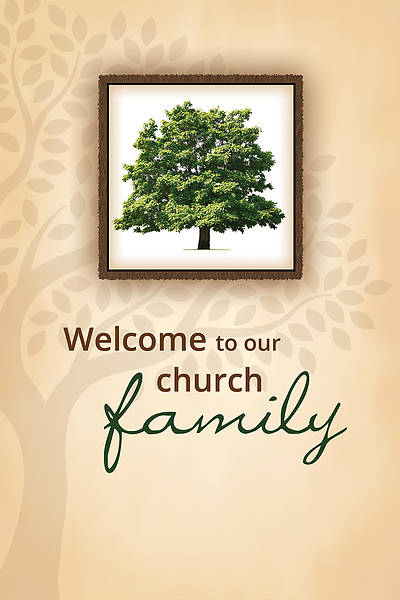 Welcome Folder - Family Tree - John 3:16 (NIV) (PK 12)