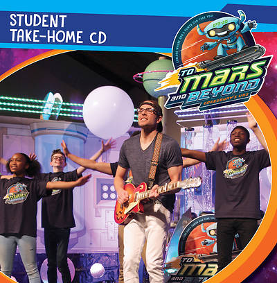 Vacation Bible School (VBS) To Mars and Beyond Student Take-Home CD (Pkg of 6)