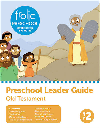Picture of Frolic Preschool  Old Testament  Year 2  Ages 3-5  Leader Guide