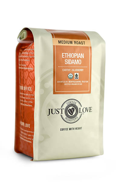 Just Love Ethiopian Sidamo Medium Roast Ground Coffee