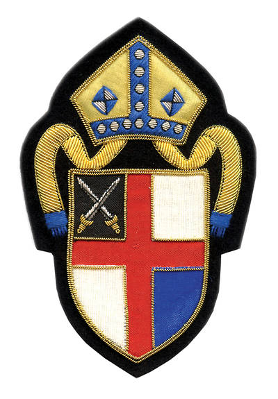 Hand Embroidered Diocesan Seal - Diocese of Connecticut