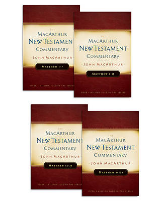 Matthew 1-28 MacArthur New Testament Commentary Four Volume Set [ePub Ebook]