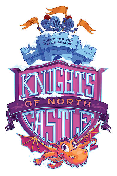 Picture of Vacation Bible School (VBS) 2020 Knights of North Castle Downloadable High Resolution Logo
