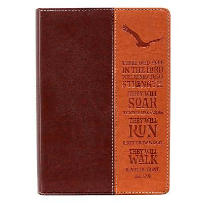 Picture of Wings Like Eagles Classic Lux-Leather Journal