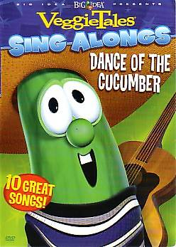 VeggieTales Dance of the Cucumber Sing Along DVD