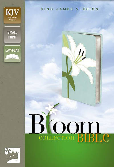 KJV Thinline Bloom Collection Bible, Compact