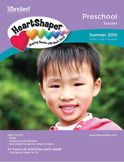 Standards HeartShaper Preschool Teacher Book: Summer 2013