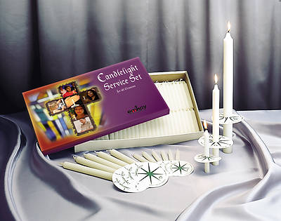 Emkay Candlelight Service Set - 250 Congregational Candles