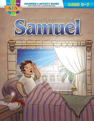 Picture of Kid/Fam Ministry Color and ACT Bks - General - Samuel (5-7)