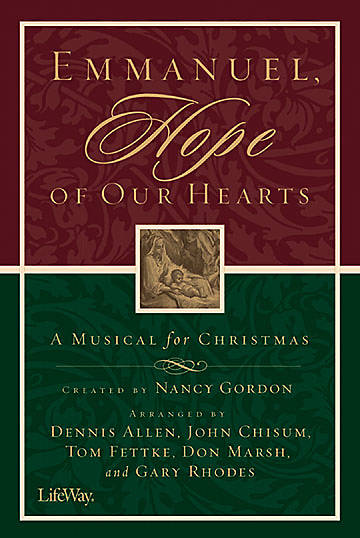 Emmanuel Hope of Our Hearts Choral Book