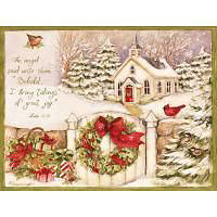 Picture of Gifts of Christmas Boxed Christmas Cards by LANG